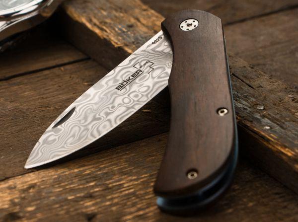 Couteau Böker Plus Exskelibur II Cocobolo Damascus