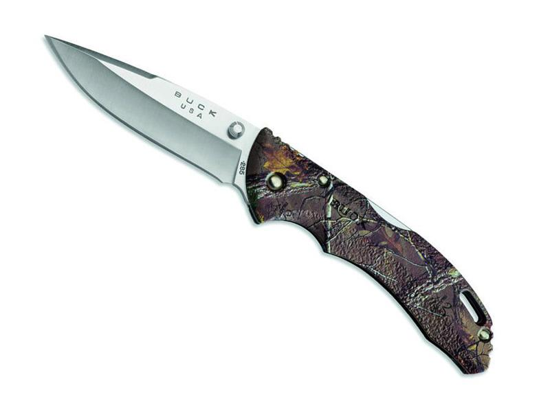 Couteau BUCK Bantam Real Tree Camo 0285CMS18